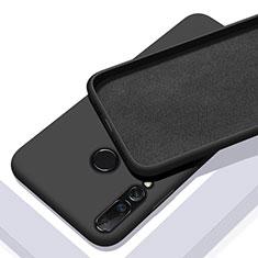Coque Ultra Fine Silicone Souple 360 Degres Housse Etui pour Huawei P20 Lite (2019) Noir