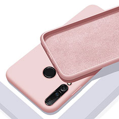 Coque Ultra Fine Silicone Souple 360 Degres Housse Etui pour Huawei P20 Lite (2019) Or Rose
