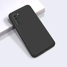 Coque Ultra Fine Silicone Souple 360 Degres Housse Etui pour Huawei P40 Lite 5G Noir