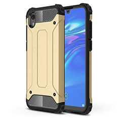 Coque Ultra Fine Silicone Souple 360 Degres Housse Etui pour Huawei Y5 (2019) Or