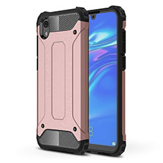 Coque Ultra Fine Silicone Souple 360 Degres Housse Etui pour Huawei Y5 (2019) Or Rose
