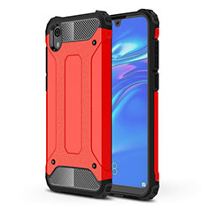 Coque Ultra Fine Silicone Souple 360 Degres Housse Etui pour Huawei Y5 (2019) Rouge
