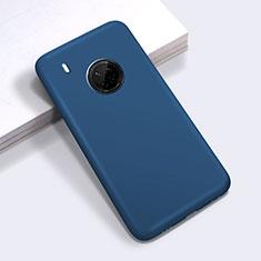 Coque Ultra Fine Silicone Souple 360 Degres Housse Etui pour Huawei Y9a Bleu