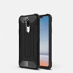 Coque Ultra Fine Silicone Souple 360 Degres Housse Etui pour LG G7 Noir