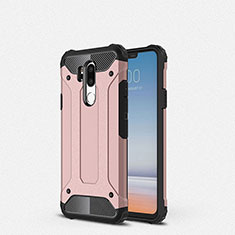 Coque Ultra Fine Silicone Souple 360 Degres Housse Etui pour LG G7 Or Rose