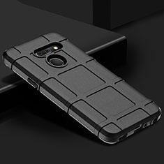 Coque Ultra Fine Silicone Souple 360 Degres Housse Etui pour LG G8 ThinQ Noir