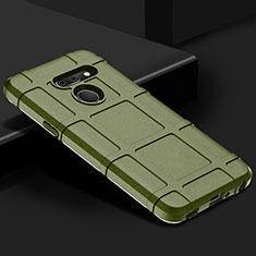 Coque Ultra Fine Silicone Souple 360 Degres Housse Etui pour LG G8 ThinQ Vert