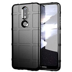 Coque Ultra Fine Silicone Souple 360 Degres Housse Etui pour Nokia 2.4 Noir