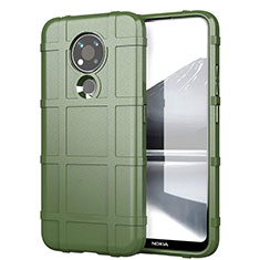 Coque Ultra Fine Silicone Souple 360 Degres Housse Etui pour Nokia 3.4 Vert Armee