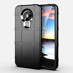 Coque Ultra Fine Silicone Souple 360 Degres Housse Etui pour Nokia 5.3 Noir