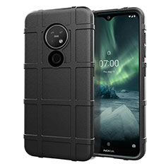 Coque Ultra Fine Silicone Souple 360 Degres Housse Etui pour Nokia 6.2 Noir