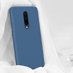 Coque Ultra Fine Silicone Souple 360 Degres Housse Etui pour OnePlus 7 Pro Bleu