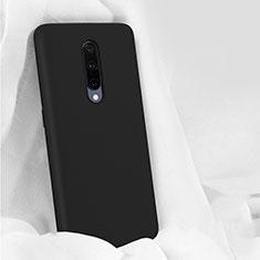 Coque Ultra Fine Silicone Souple 360 Degres Housse Etui pour OnePlus 7 Pro Noir