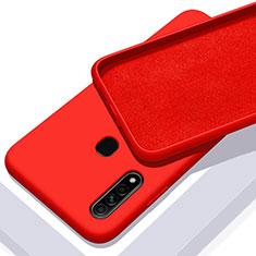 Coque Ultra Fine Silicone Souple 360 Degres Housse Etui pour Oppo A8 Rouge