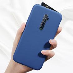 Coque Ultra Fine Silicone Souple 360 Degres Housse Etui pour Oppo Reno 10X Zoom Bleu