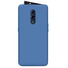 Coque Ultra Fine Silicone Souple 360 Degres Housse Etui pour Oppo Reno Bleu