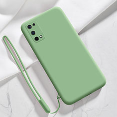 Coque Ultra Fine Silicone Souple 360 Degres Housse Etui pour Realme Q2 Pro 5G Pastel Vert
