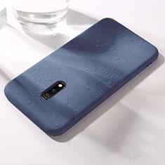 Coque Ultra Fine Silicone Souple 360 Degres Housse Etui pour Realme X Bleu