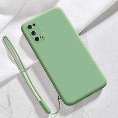 Coque Ultra Fine Silicone Souple 360 Degres Housse Etui pour Realme X7 5G Pastel Vert