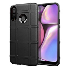 Coque Ultra Fine Silicone Souple 360 Degres Housse Etui pour Samsung Galaxy A20s Noir