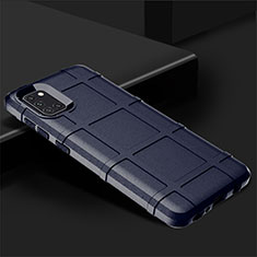 Coque Ultra Fine Silicone Souple 360 Degres Housse Etui pour Samsung Galaxy A31 Bleu