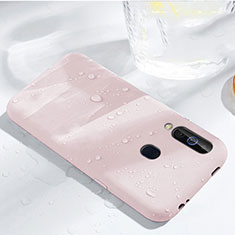 Coque Ultra Fine Silicone Souple 360 Degres Housse Etui pour Samsung Galaxy A60 Or Rose