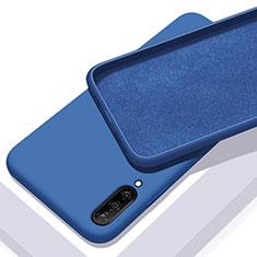 Coque Ultra Fine Silicone Souple 360 Degres Housse Etui pour Samsung Galaxy A70 Bleu