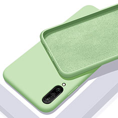 Coque Ultra Fine Silicone Souple 360 Degres Housse Etui pour Samsung Galaxy A70 Vert
