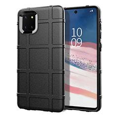 Coque Ultra Fine Silicone Souple 360 Degres Housse Etui pour Samsung Galaxy A81 Noir