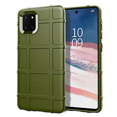 Coque Ultra Fine Silicone Souple 360 Degres Housse Etui pour Samsung Galaxy Note 10 Lite Vert