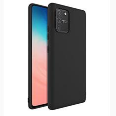 Coque Ultra Fine Silicone Souple 360 Degres Housse Etui pour Samsung Galaxy S10 Lite Noir