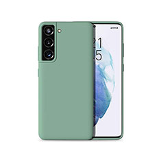 Coque Ultra Fine Silicone Souple 360 Degres Housse Etui pour Samsung Galaxy S21 5G Vert