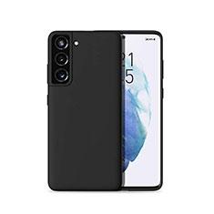 Coque Ultra Fine Silicone Souple 360 Degres Housse Etui pour Samsung Galaxy S21 Plus 5G Noir
