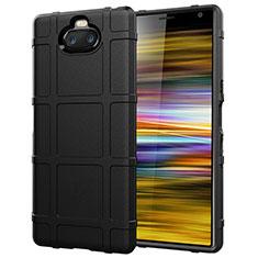 Coque Ultra Fine Silicone Souple 360 Degres Housse Etui pour Sony Xperia 10 Plus Noir