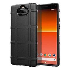 Coque Ultra Fine Silicone Souple 360 Degres Housse Etui pour Sony Xperia 8 Lite Noir