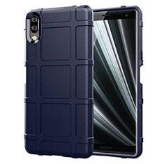 Coque Ultra Fine Silicone Souple 360 Degres Housse Etui pour Sony Xperia L3 Bleu