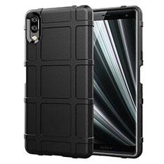 Coque Ultra Fine Silicone Souple 360 Degres Housse Etui pour Sony Xperia L3 Noir