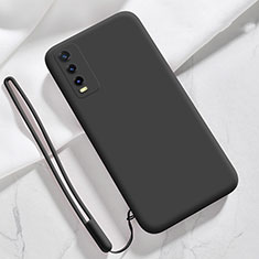 Coque Ultra Fine Silicone Souple 360 Degres Housse Etui pour Vivo Y11s Noir