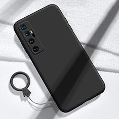 Coque Ultra Fine Silicone Souple 360 Degres Housse Etui pour Xiaomi Mi 10 Ultra Noir