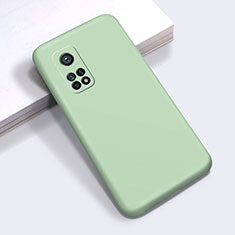 Coque Ultra Fine Silicone Souple 360 Degres Housse Etui pour Xiaomi Mi 10T Pro 5G Pastel Vert