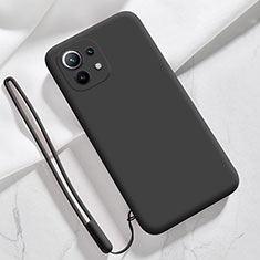 Coque Ultra Fine Silicone Souple 360 Degres Housse Etui pour Xiaomi Mi 11 5G Noir