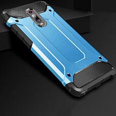 Coque Ultra Fine Silicone Souple 360 Degres Housse Etui pour Xiaomi Mi 9T Pro Bleu