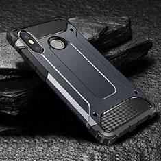 Coque Ultra Fine Silicone Souple 360 Degres Housse Etui pour Xiaomi Mi Max 3 Bleu