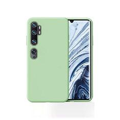 Coque Ultra Fine Silicone Souple 360 Degres Housse Etui pour Xiaomi Mi Note 10 Vert