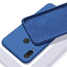 Coque Ultra Fine Silicone Souple 360 Degres Housse Etui pour Xiaomi Redmi 7 Bleu