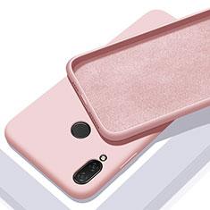 Coque Ultra Fine Silicone Souple 360 Degres Housse Etui pour Xiaomi Redmi 7 Or Rose