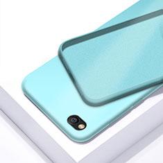 Coque Ultra Fine Silicone Souple 360 Degres Housse Etui pour Xiaomi Redmi Go Cyan