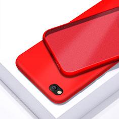 Coque Ultra Fine Silicone Souple 360 Degres Housse Etui pour Xiaomi Redmi Go Rouge