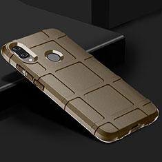 Coque Ultra Fine Silicone Souple 360 Degres Housse Etui pour Xiaomi Redmi Note 7 Marron