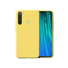 Coque Ultra Fine Silicone Souple 360 Degres Housse Etui pour Xiaomi Redmi Note 8 Jaune
